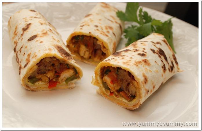 The Grand Masala: Chicken Kathi Rolls