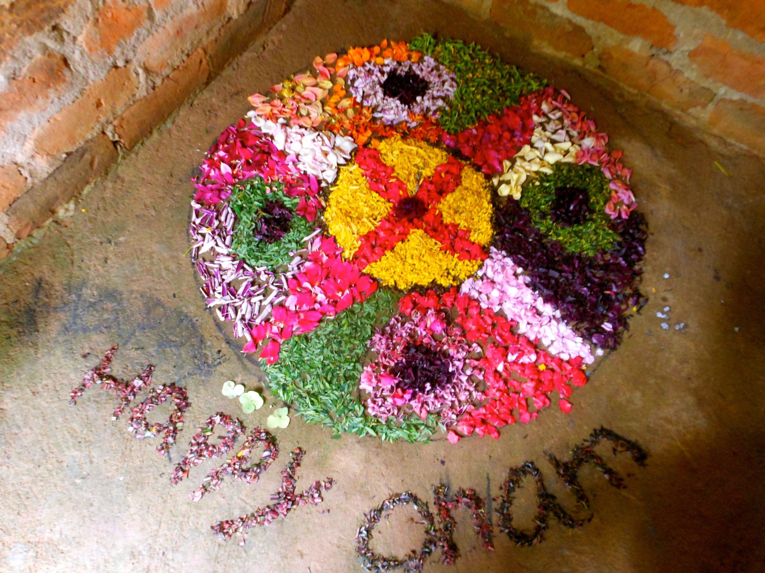 Celebrating Onam
